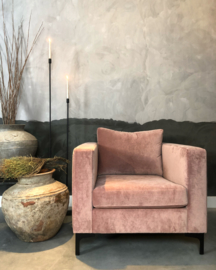 Fauteuil Anneloes rose