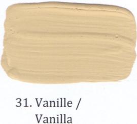 31 Vanille - voorstrijkmiddel kalkverf op kleur