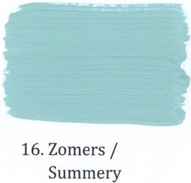 16 Zomers - Matte lak OH Terpentinebasis