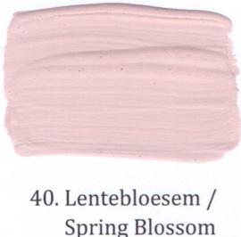 40 Lentebloesem - voorstrijkmiddel kalkverf op kleur