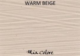 Warm beige - krijtverf Mia Colore