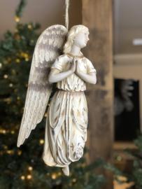 Kerst engel wandornament 40 cm