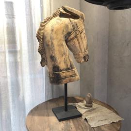 Paardenhoofd op statief - 45x16x90 cm