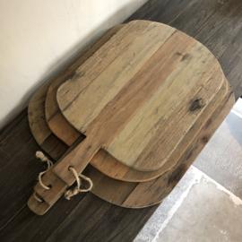 Set van 3 houten broodplanken