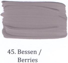 45 Bessen - voorstrijkmiddel kalkverf op kleur