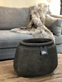 STILL Collection ovalen pot met klassieke rand - maat M - Touch of brown