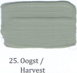 25 Oogst - voorstrijkmiddel kalkverf op kleur