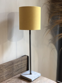 Lampenkap 20x20x20 cm maïsgeel