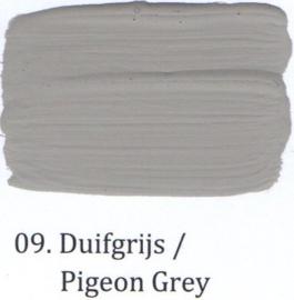 09 Duifgrijs - Matte lak OH Terpentinebasis