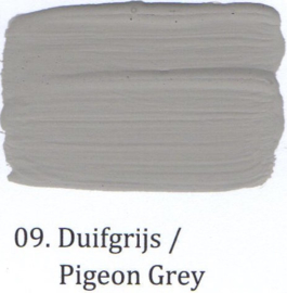 09 Duifgrijs - Hoogglans lak OH terpentinebasis
