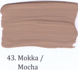 43 Mokka  - Matte lak OH Terpentinebasis