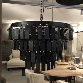 Hanglamp Pomme met zwarte schijfjes