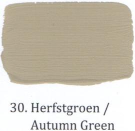 30 Herfstgroen  - Matte lak OH Terpentinebasis