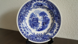 Old England - Soepbord Blauw 23 cm