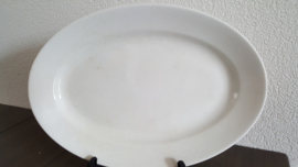 Serveerschaal in roomwit 31,5 x22 cm (maat 6)