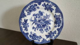 Asiatic Pheasants Blauw  - Dinerbord