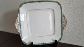 Jade - Vierkante serveerschaal 24 cm