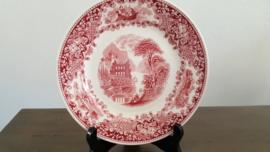 Castillo - Ontbijtbord rood 20 cm