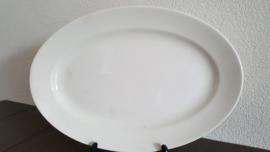 Serveerschaal in roomwit 29 x 27 cm (maat 4)