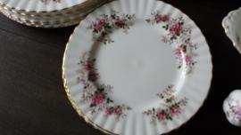 Lavender Rose - Gebakjesbordje 16 cm