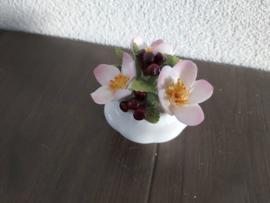 December - Bloemen Christmas Rose  6 cm hoog
