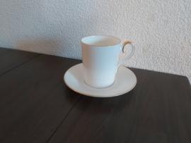 Val d'Or - Koffiekop en schotel (recht model)