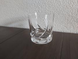 Toscane - Whiskey glas ca 8,5 cm hoog