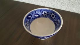 Teadrinker Blauw - Kommetje 9.5 cm ( Regout uitvoering)