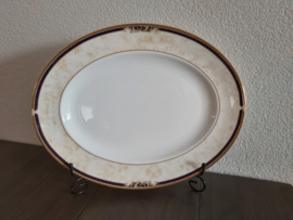Cornucopia - Ovale serveerschaal  36 x 28 cm
