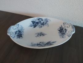 Villeroy & Boch - broodschaal in vloeiblauw