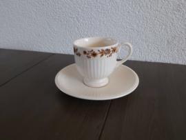 Radcliffe - Espresso/mokka kop en schotel