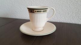 Carlton - Koffiekop met schotel