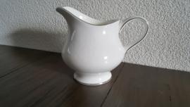 Silver Ermine ( Contour Shape) - Roomkannetje  11 cm hoog