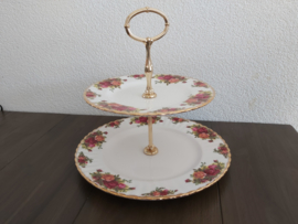 Old Country Roses - Etagière 2-laags  (21/16 cm)
