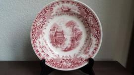 Old  England - Soepbord Rood 23,5 cm