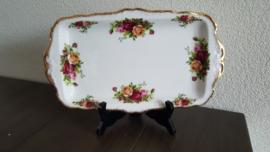 Old Country Roses - Serveerschaal langwerpig 29,5 x 17 cm