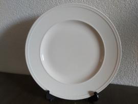 Windsor - Dinerbord 27,5 cm glad met parelrand
