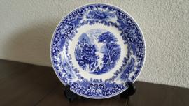 Old England - Ontbijtbord Blauw 20 cm