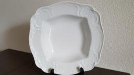 Sanssouci White - Groenteschaal vierkant 24,5 x 24,5 cm