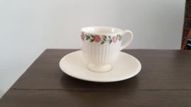 Rosalind - Espresso/mokka kop en schotel