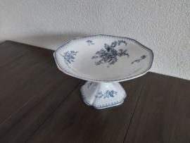 Meibloem - Serveerschaal op voet - doorsnede 23 cm (A)
