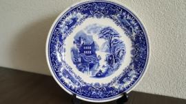 Old England - Serveerschaal of pannekoekbord 28 cm