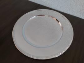 Pearl - Verzilverd onderbord 31 cm