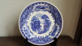 Old England - Dinerbord Blauw 23,5 cm