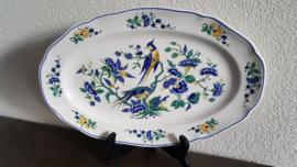 Phoenix Blauw - Serveerschaal 32 x 21 cm