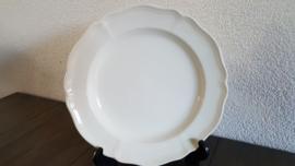 Queen's Plain Creme - Ontbijtbordje 20,5 cm