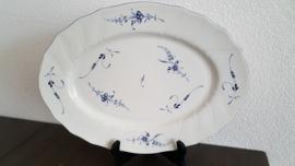 Vieux Luxembourg - Ovale vleesschaal 36 x 27 cm