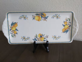 Citrons - Cakeschaal langwerpig 37 cm