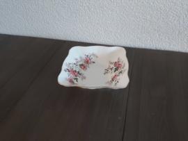 Lavender Rose - Klein bonbonschaaltje vierkant 11,5 cm