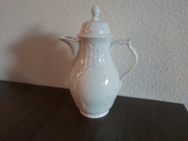 Sanssouci White - Koffiepot 27 cm  hoog